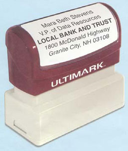 Istamp and Ultimark Self Inking Stamps